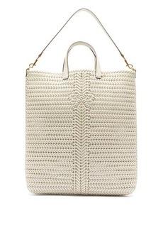 Anya Hindmarch Neeson woven-leather tote bag