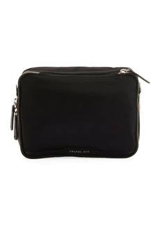 Anya Hindmarch Nylon Zip Travel Cosmetic Bag