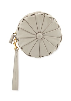 Anya Hindmarch Pillow Round Napa Clutch Bag