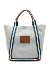 Anya Hindmarch Pont striped-handle canvas tote bag