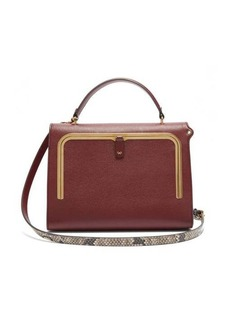 Anya Hindmarch Postbox medium leather cross-body bag
