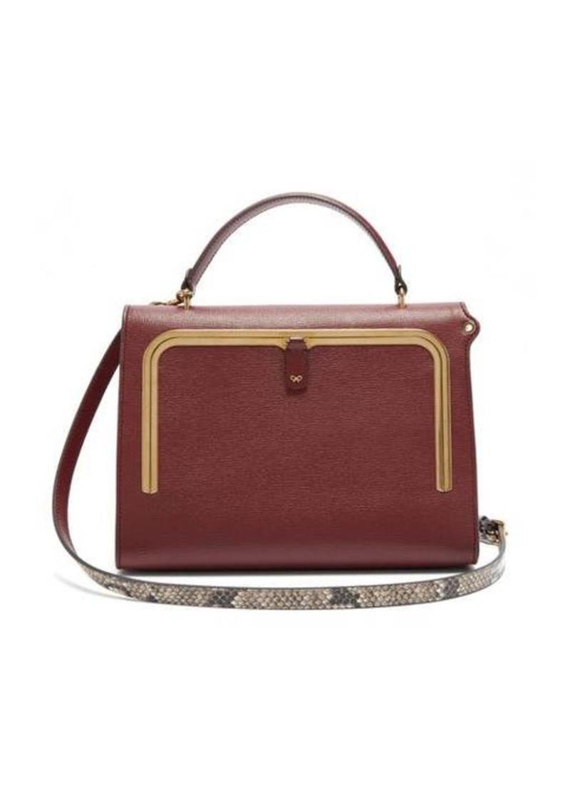 Anya Hindmarch Postbox medium leather cross-body bag