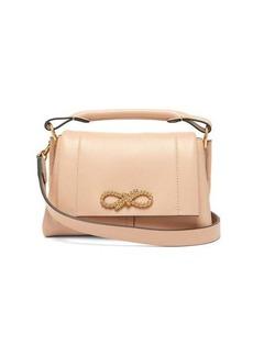 Anya Hindmarch Rope Bow mini leather handbag