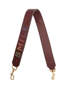 Anya Hindmarch Smile leather bag strap