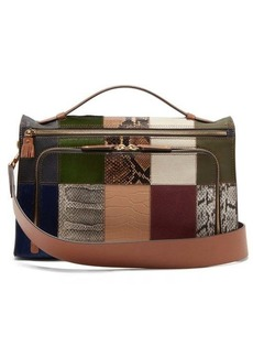 Anya Hindmarch Soft Postbox patchwork-leather bag