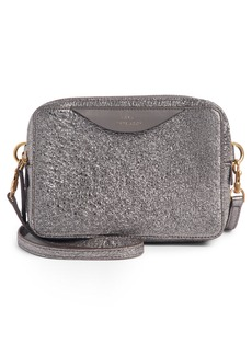Anya Hindmarch Stack Metallic Leather Crossbody Wallet