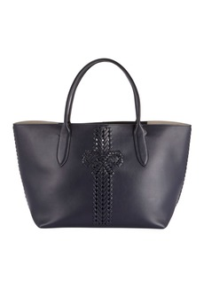 Anya Hindmarch The Neeson Shopper Tote Bag  Dark Blue