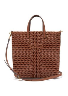 Anya Hindmarch The Neeson small woven-leather tote bag