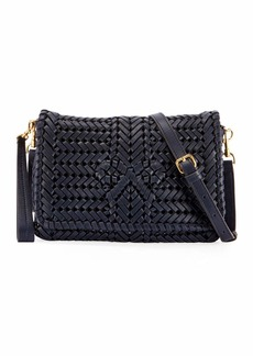 Anya Hindmarch The Neeson Woven Leather Crossbody Bag