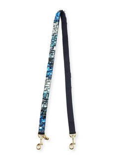 Anya Hindmarch Thin Jewels Shoulder Strap  Blue