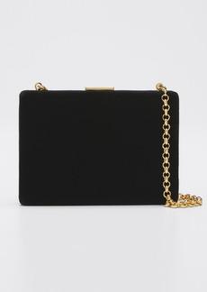 Anya Hindmarch Velvet Card Case/Wallet  Black