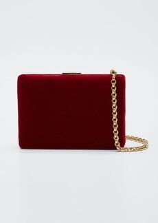 Anya Hindmarch Velvet Card Case/Wallet  Red