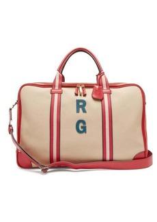 Anya Hindmarch Walton customisable canvas travel bag