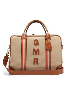 Anya Hindmarch Walton customisable canvas travel bag