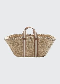 Anya Hindmarch Walton Woven Logo Tote Bag