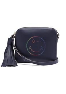 Anya Hindmarch Rainbow Wink leather cross-body bag