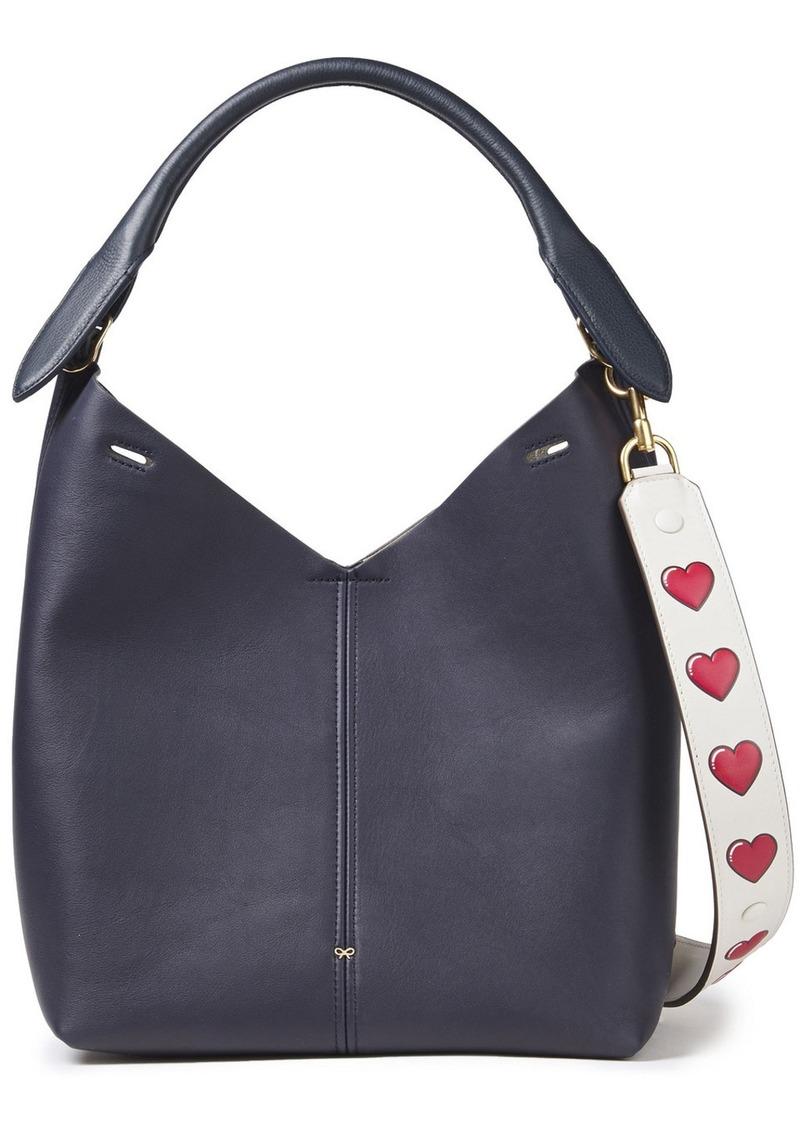 Anya Hindmarch Woman Leather Shoulder Bag Indigo