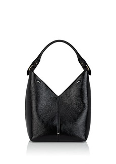 Anya Hindmarch Women's Small Patent Leather Bucket Bag - Black
