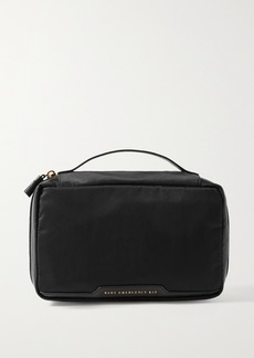 Anya Hindmarch Baby Emergency Kit Leather-trimmed Shell Pouch