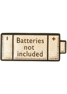 Anya Hindmarch 'Batteries Not Included' sticker