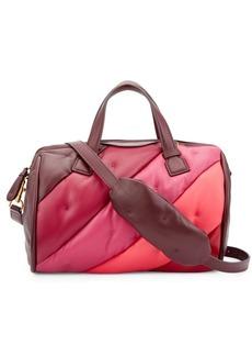 Anya Hindmarch Chubby Barrel Leather Top Handle Bag