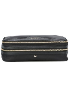 Anya Hindmarch double zip make up bag