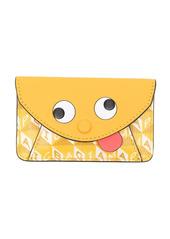 Anya Hindmarch envelope purse sticker zany