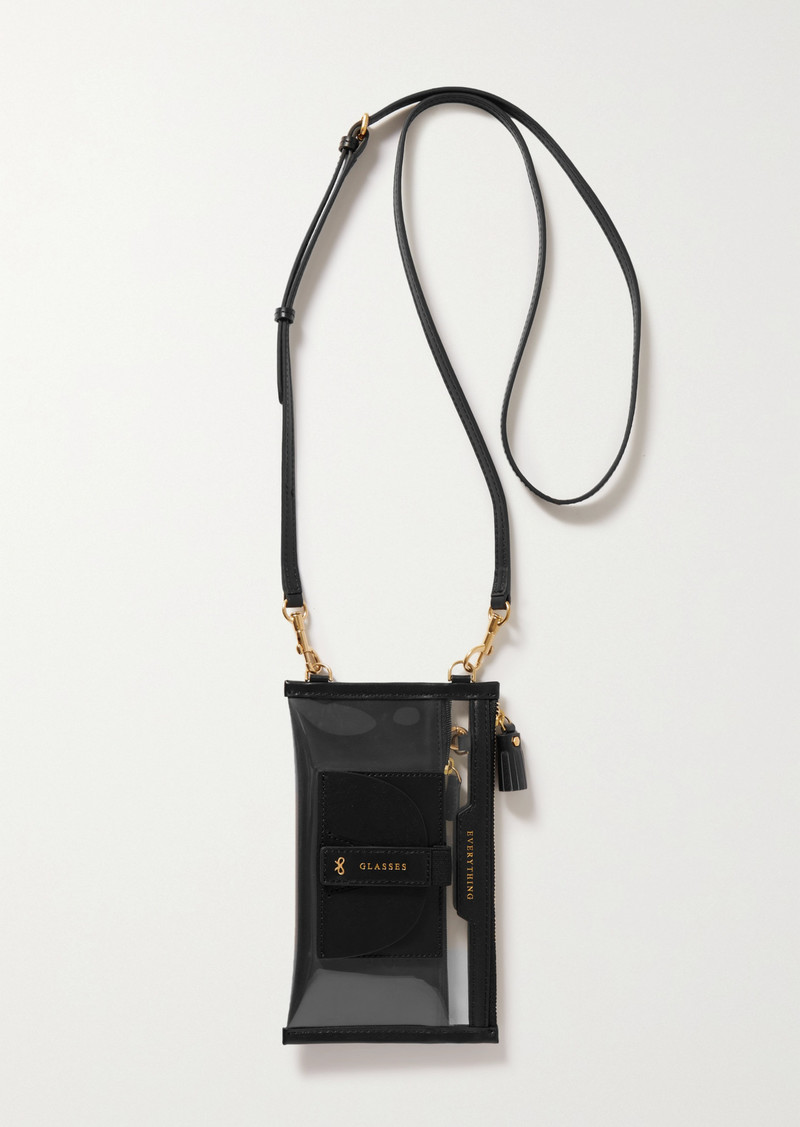 Anya Hindmarch Everything Leather-trimmed Tpu And Recycled Shell Shoulder Bag
