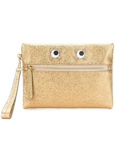 Anya Hindmarch eyes embellished clutch