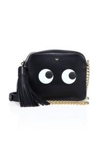 Anya Hindmarch Eyes Leather Crossbody Bag