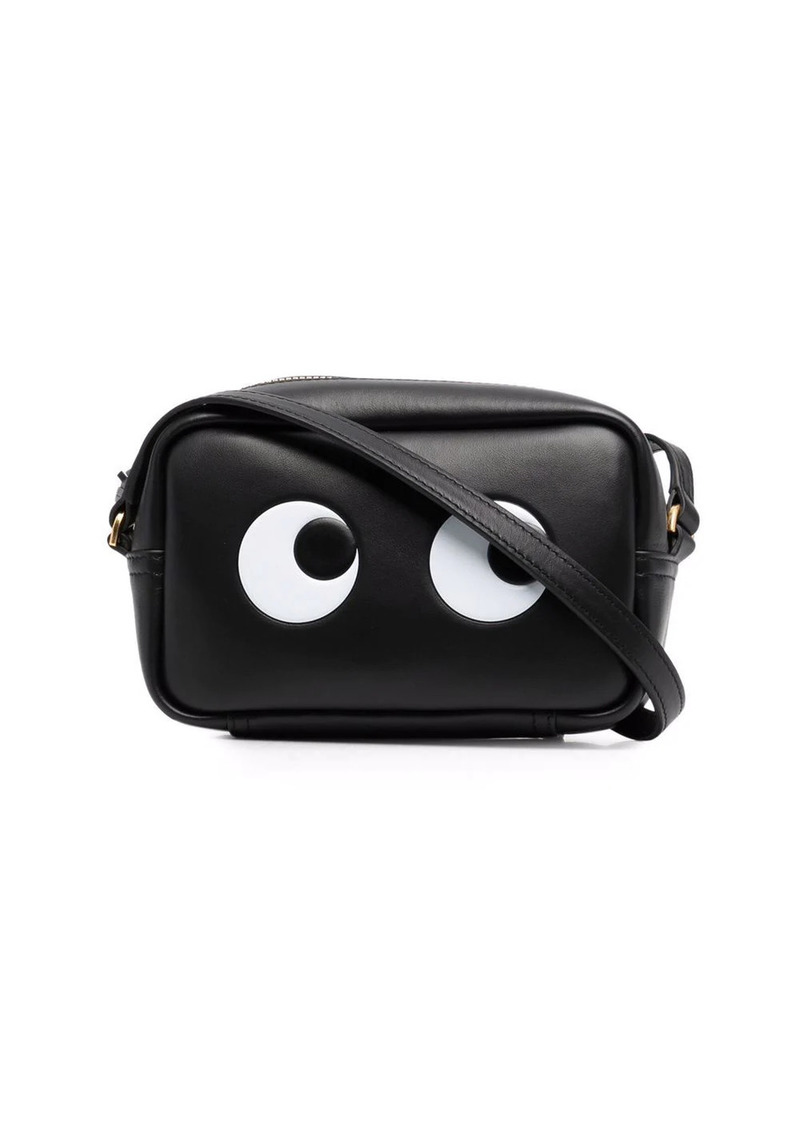Anya Hindmarch eyes-motif leather crossbody bag