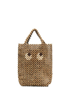 Anya Hindmarch Eyes wood tote bag
