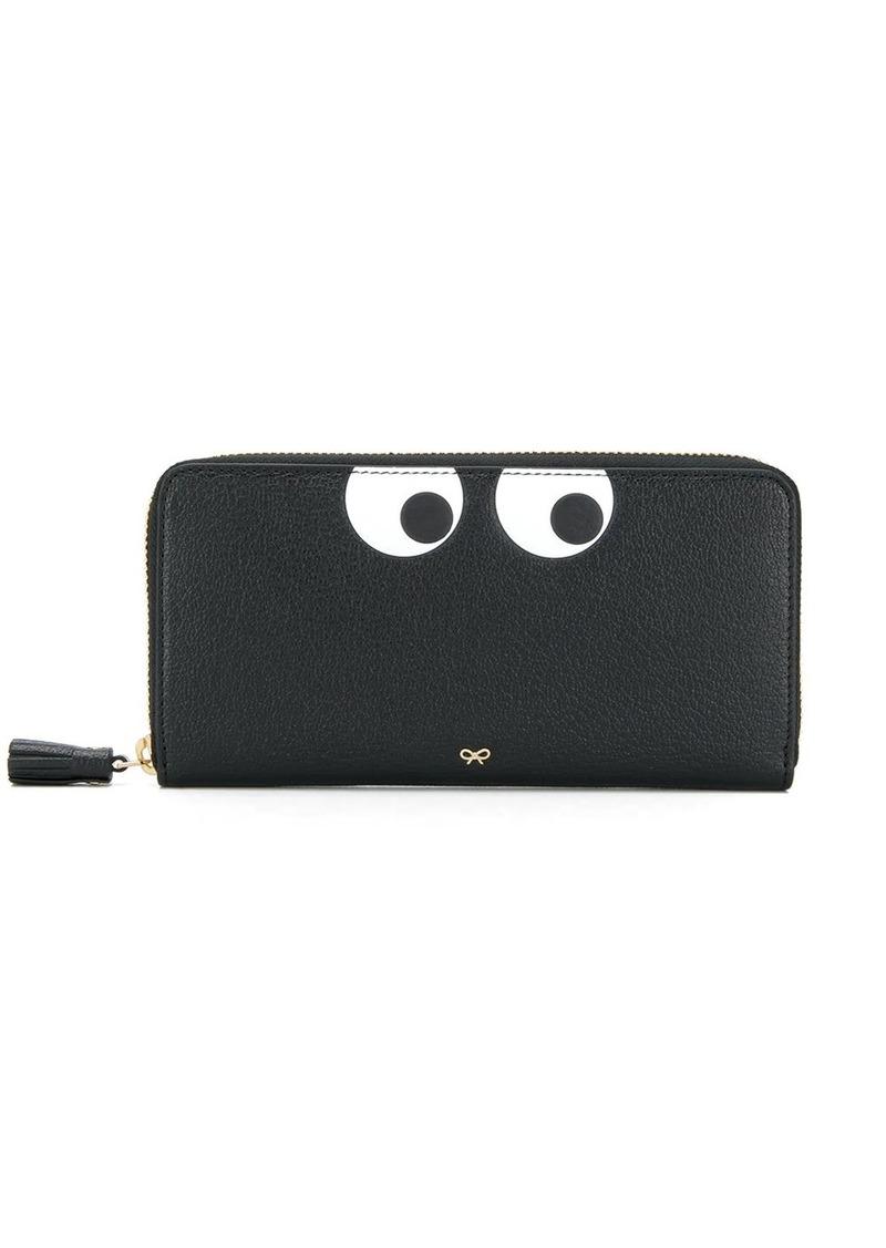 Anya Hindmarch Eyes zipped wallet