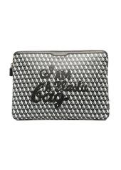 Anya Hindmarch geometric-print laptop bag