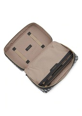 Anya Hindmarch I Am A Plastic Bag Baby Leather-Trim Emergency Kit Bag