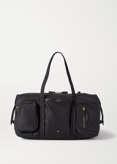 Anya Hindmarch Inflight Leather-trimmed Shell Weekend Bag