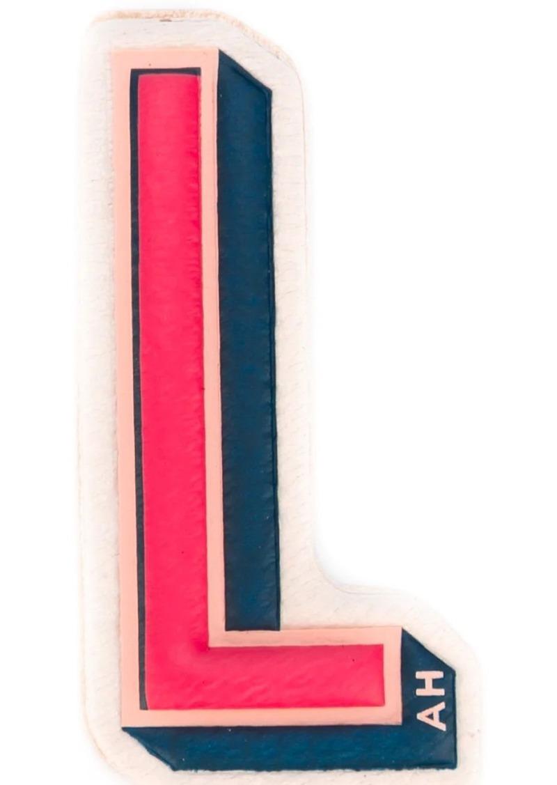 Anya Hindmarch 'L' sticker