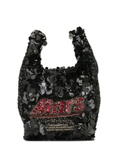 Anya Hindmarch Mars sequined tote bag