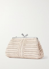 Anya Hindmarch Maud Woven Leather Clutch
