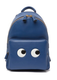 Anya Hindmarch Mini Eyes Right In Leather Backpack