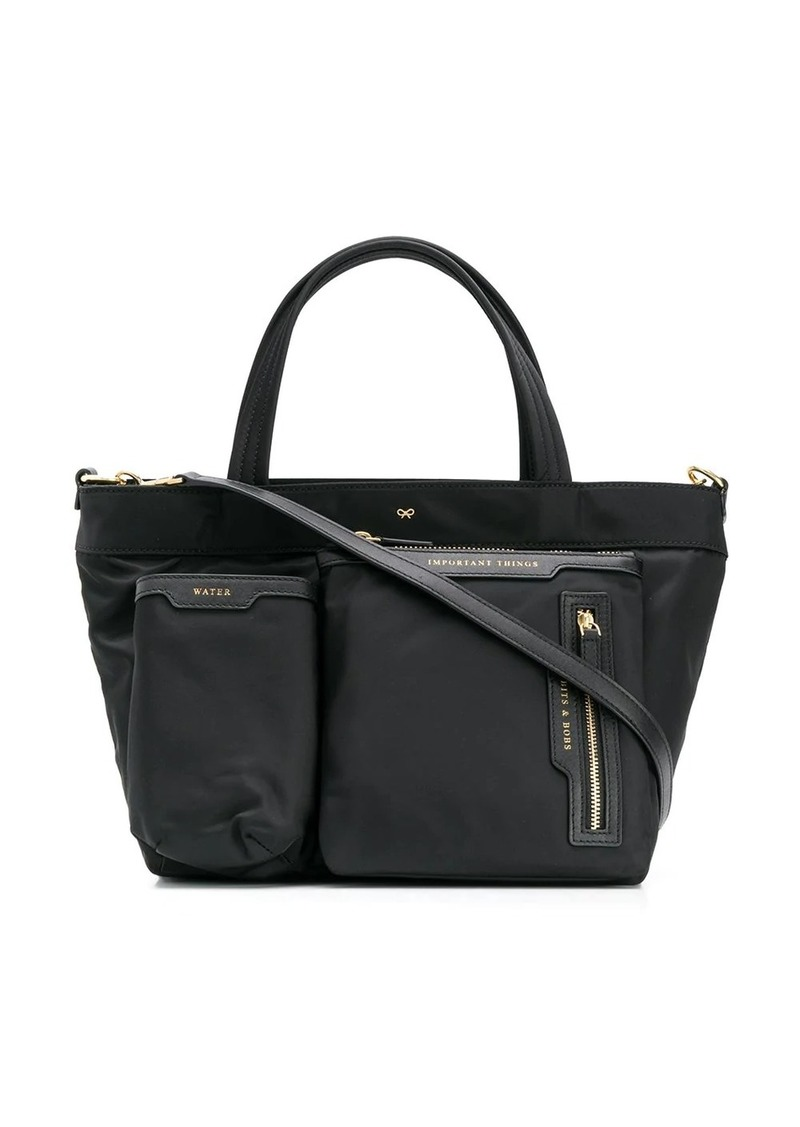 Anya Hindmarch mini multi pocket tote