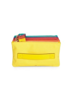 Anya Hindmarch Multicolor Filing Cabinet Accordion Pouch