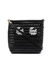Anya Hindmarch Neeson woven leather satchel bag