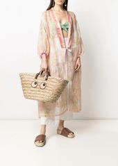 Anya Hindmarch oversized raffia tote bag