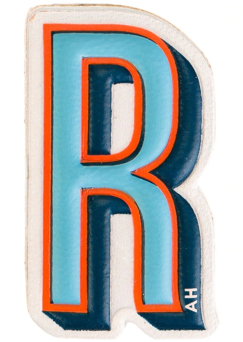 Anya Hindmarch 'R' sticker