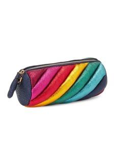 Anya Hindmarch Rainbow Marshmallow Leather Clutch
