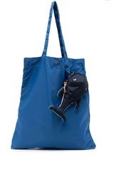 Anya Hindmarch shark-charm tote bag