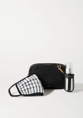 Anya Hindmarch Shell Pouch Face Mask And Hand-sanitizer Dispenser Kit