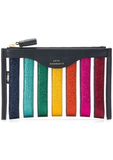 Anya Hindmarch striped makeup bag