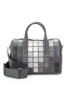 Anya Hindmarch Vere Giant Pixel Leather Barrel Bag